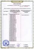 Скачать приложение к сертификату на светильники серии ЛСП44