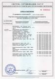 Скачать приложение к сертификату на оборудование для вентиляции и кондиционирования воздуха с комплектующими, т. м. «Арктос»