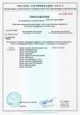 Скачать приложение к сертификату на водки в ассортименте