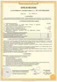 Скачать приложение к сертификату на барьер искрозащитный пассивный БИСК12-4 с маркировкой взрывозащиты [Exib]IIB