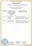 Скачать приложение к сертификату на зарядные устройства Duracell модель CEF15GBL-3 с блоком питания Duracell модель CEF15EU-ADP3