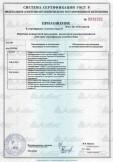 Скачать приложение к сертификату на профили металлические тонкостенные и комплектующие к ним с полимерным покрытием и без него, торговой марки «АЛБЕС» для облицовки потолков, наружных и внутренних стен зданий и сооружений