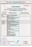 Скачать приложение к сертификату на запасные части к оборудованию подъемно-транспортному, торговая марка «Tech-KREP»