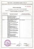 Скачать приложение к сертификату на консервы рыбные натуральные с добавлением масла
