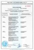 Скачать приложение к сертификату на строительные составы полимерные отделочные готовые к применению торговых марок «Ceresit»: CT60/CT63/CT64, CT174/CT175, CT77
