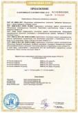 Скачать приложение к сертификату на портативные компьютеры (Notebook Computer) модели TPN-Q173 с торговой маркой HP