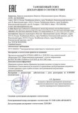 Скачать сертификат на датчики давления Метран-150