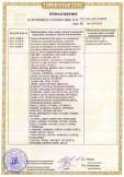 Скачать приложение к сертификату на одежда специальная для защиты от пониженных температур, комплекты мужские и женские (костюмы, куртки, брюки, полукомбинезоны, жилеты), из смешанных и синтетических тканей, в том числе с водоотталкивающей отделкой для I-II, II-III, IA, IБ-IV климатических поясов