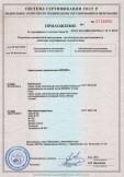 Скачать приложение к сертификату на смеси сухие строительные «BROZEX»